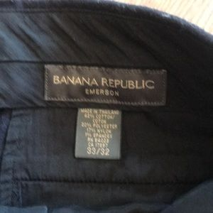 Banana Republic Pants - Banana Republic Dark Navy Chino